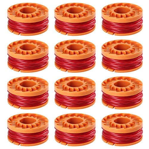 - String Trimmer Lines for Worx WA0010 Replacement Trimmers Spool Line,for Grass Trimmer Edger 10ft(12-Pack)