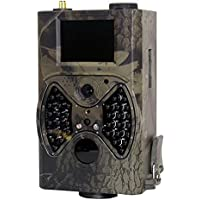 Shinee HC-300M Hunting Game Camera IR LED Camera GPRS/MMS/SMS Function Digital Infrared Trail Camera Water Proof Scouting Surveillance Hunting Automatically