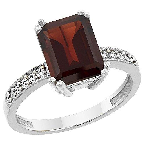 14k Octagon Gemstone Ring - 3