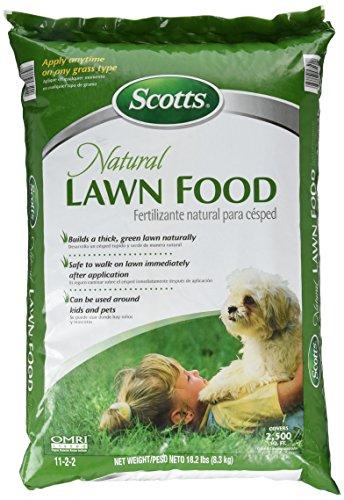 Scotts Natural Lawn Food 500 sq