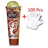 XIDAJE Slimming Body Cream Coffee fruit slimming Essential Massage cream, 250ml (90 pcs to 100 pcs disposable gloves free of charge) review