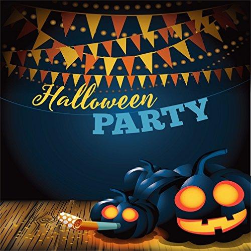 CSFOTO 8x8ft Halloween Background Halloween Party Decor Photography
