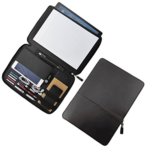 Qi Road Portfolio Zippered Professional