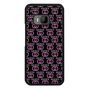 Luxury Collection Htc One M9 Gucci Phone Case,Gucci Pattern Luxury Logo Back Cover For Htc One M9
