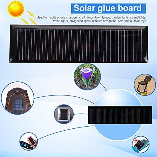 cargador de celdas solares para cargadores de juguete Haihuic Mini m/ódulo solar de 0,22 W 5,5 V celdas solares policristalinas panel solar de polisilicio y epoxi