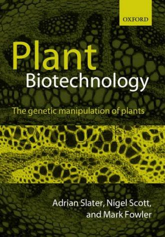 Plant Biotechnology: The Genetic Manipulation of Plants