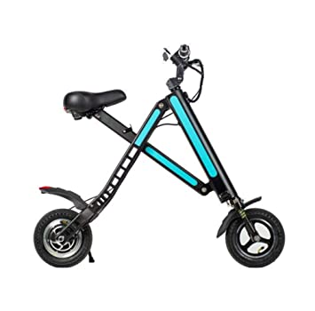 OOBY Mini Plegable Scooter Eléctrico Bloques Micro Batería De Coche De Litio Pequeño Harley Twist Car