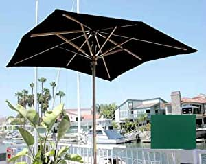 Dayva Huntington Square Market Umbrella, 6-Feet