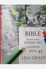 Bible Master Artist Woodcuts Adult Coloring Book #2 (Volume 2) Paperback