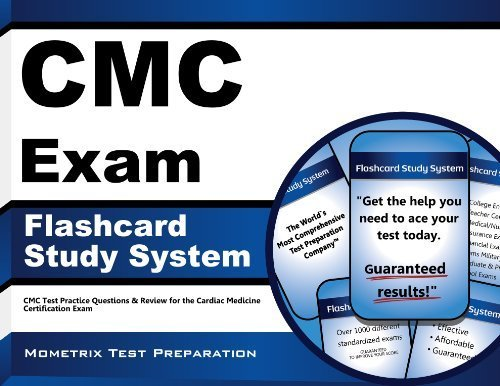 CMC Exam Flashcard Study System: CMC Test Practice Questions & Review for the Cardiac Medicine Certification Exam (Cards) by CMC Exam Secrets Test Prep Team (2013-02-14)