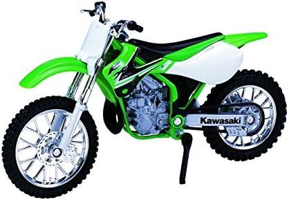[해외]Welly Die Cast Motorcycle Green Kawasaki 2002 KX 250 1:18 Scale / Welly Die Cast Motorcycle Green Kawasaki 2002 KX 250, 1:18 Scale