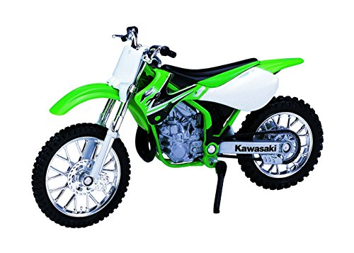 Welly Die Cast Motorcycle Green Kawasaki 2002 KX 250, for sale  Delivered anywhere in USA