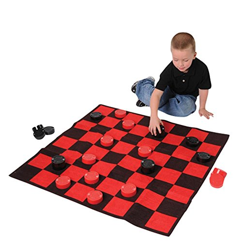 Jumbo 36''*36'' Floor Checker Set by U.S. Toy