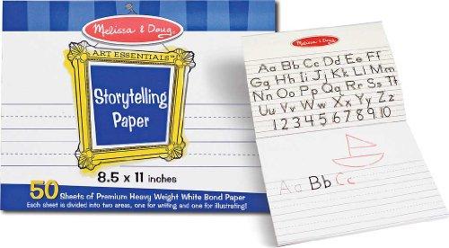 Melissa Doug Storytelling 8 5 Paper