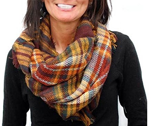 Plaid Infinity Blanket Endless Envy product image