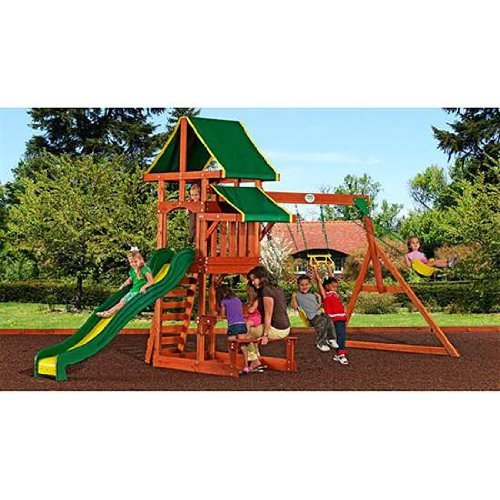 Skroutz Playground Children Play Swing Set Backyard Kids Climb Slide Activities