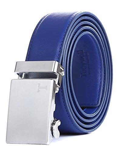 Buckle Designer (Tonywell Belt Men's Leather Ratchet Belt, Removable Buckle … (One Size:32