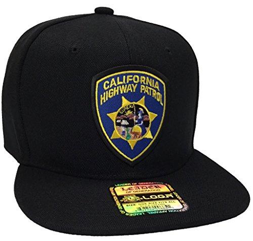 California Highway Patrol Hat Black Snapback