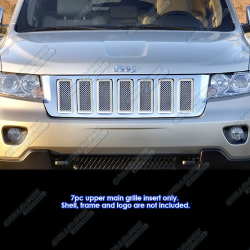 jeep cherokee chrome grill - 8