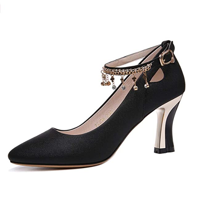 De Alto Mujer Tacón Yangxiaoyugaogenxie Con Un Zapatos fBzq5Rn4