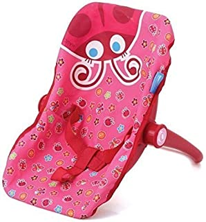 My First Doll Car Seat Infant ADJUSTABLE CARRIER Converts From Rocking Baby Carrier