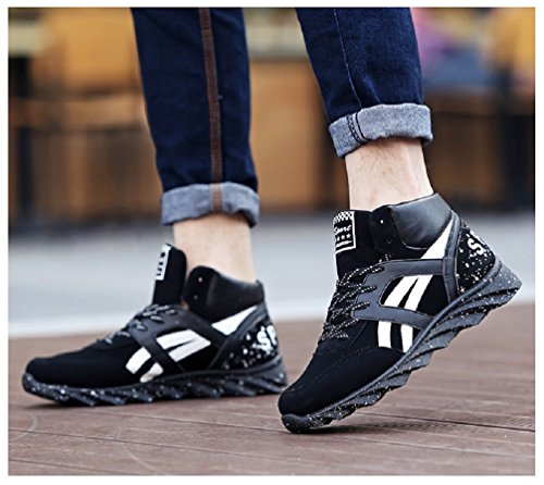 Mens Orange Sneakers Fashion Hanxue Shoes Running Sport AndqwwYB