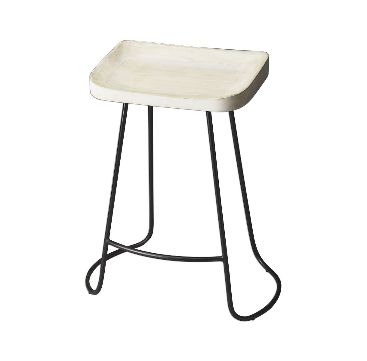 Offex Transitional Rectangular Bar Stool