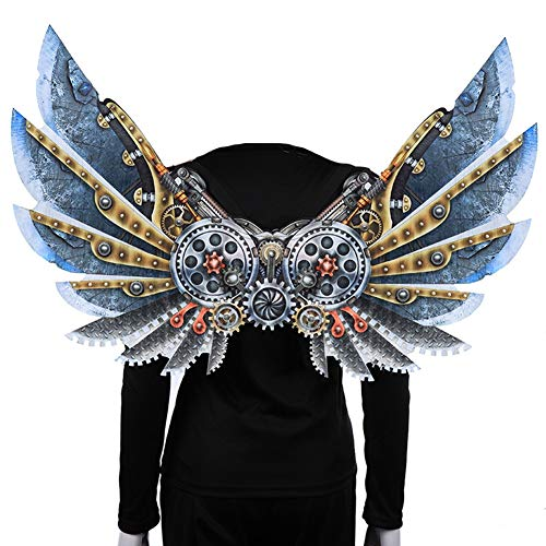 Adults and Children Punk Style Halloween Wings Decoration for Bar,Carnival Party,Costume Parties and Stage Performances,Adult]()