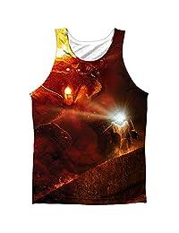 Lor No Passing Mens Sublimation Polyester Tank Top Shirt