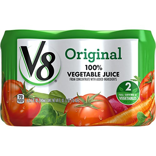 V8 100% Vegetable Juice, Original, 11.5 Ounce (Pack of 24)