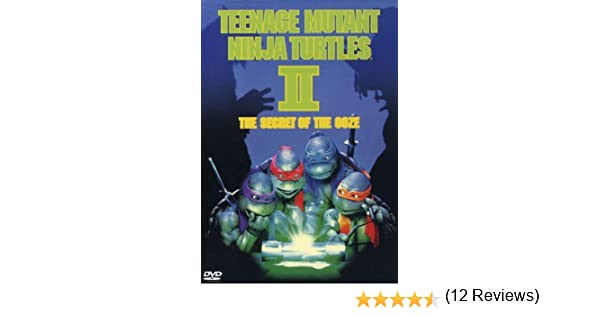 Teenage Mutant Ninja Turtles 2: Secret of Reino Unido DVD ...
