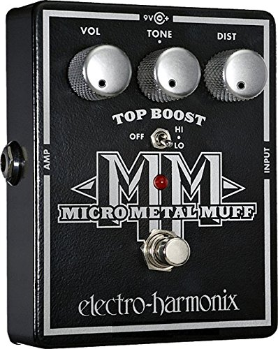 (Electro-Harmonix Micro Metal Muff Distortion Pedal)