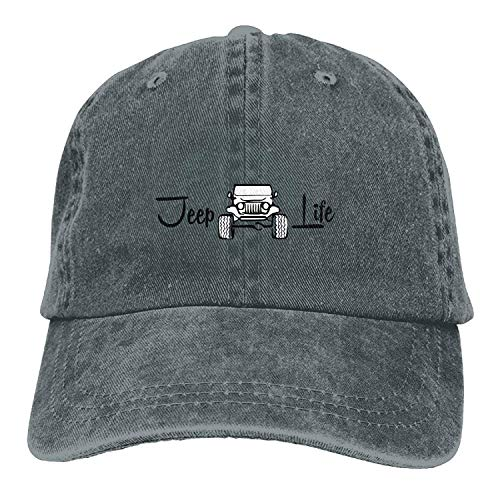 Swanner Jeep Life Cool Unisex Adjustable Baseball Cap Dad Hat (Life Jeep Good Is)