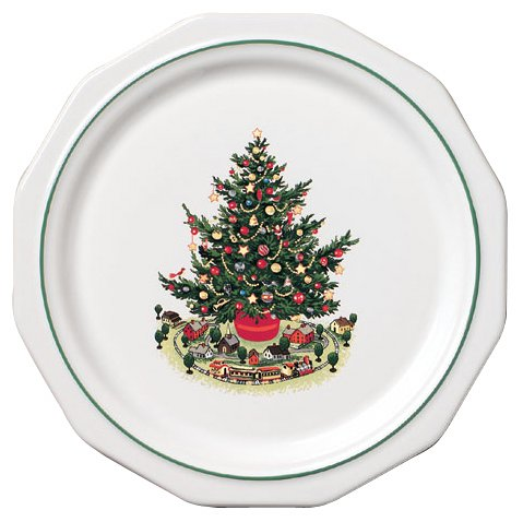 - Pfaltzgraff Christmas Heritage 10-Inch Individual Dinner Plate