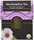 Organic Marshmallow Leaf Tea, 18 Bleach-Free Tea Bags - Caffeine Free Tea Supports Gastrointestinal Issues and Respiratory Health, Rich in Vitamins and Minerals, No GMOs Larger Image