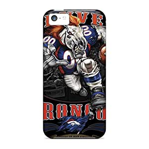 Durable Hard Cell-phone Case For Iphone 5c With Customized High-definition Denver Broncos Pictures ChristopherWalsh