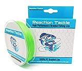 Cheap Reaction Tackle 9 Strand – Fluoro Green 20LB 300yd