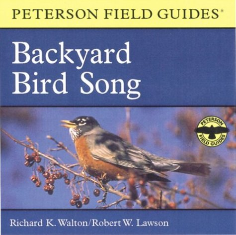 A Field Guide to Backyard Bird Song: Eastern and Central North America (Peterson Field Guide Audios) by Peterson Books