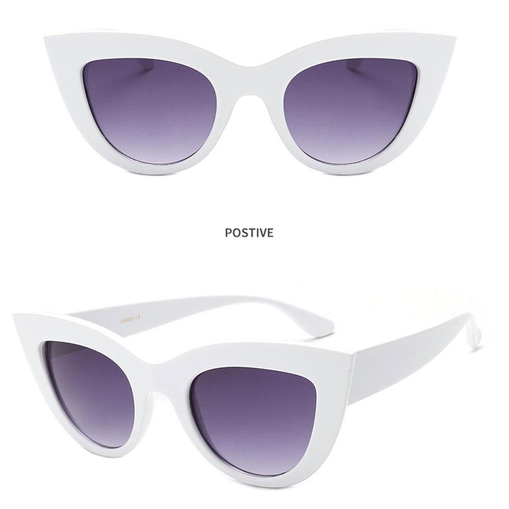 """Aolvo adorabili occhiali da sole alla moda occhiali da sole modello /""""occhi di gatto/"""" regalo di natale per ragazze stile vintage occhiali da sole a forma di cuore accessorio per costumi A"""