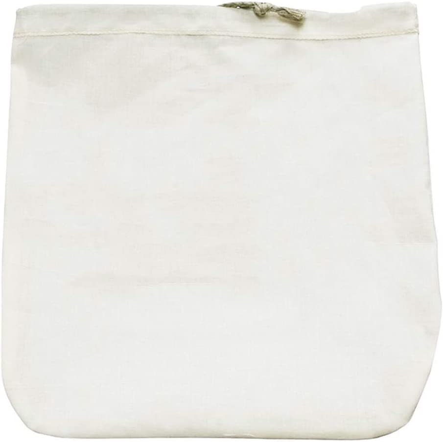 YERZ Fine Mesh Cheesecloth Filter, Food Strainer Filter, Premium Fine Mesh Food Grade Nut Milk Bag, Natural Breathable Reusable Gauze(Cotton)