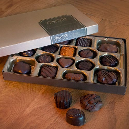 Amazon.com : Ethel M. Chocolates Classic Collection 16 pc. R44966 ...