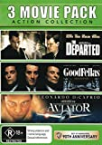 The Departed / Goodfellas / The Aviator | 3 Discs | Martin Scorcese's | NON-USA Format | PAL | Region 4 Import - Australia
