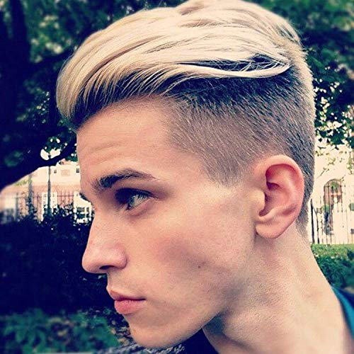 Gents Swiss - Rossy&Nancy European Virgin Human Hair Toupee for Men with Soft Thin Super Swiss Lace 10
