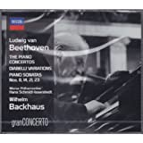 Beethoven: Concert for piano 1-5/Varation Diabelli/Sonate for piano N.8、14、 21