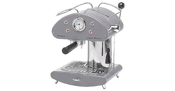 Amazon.com: Ariete Retro espressomachine 1385 Inox: Kitchen ...