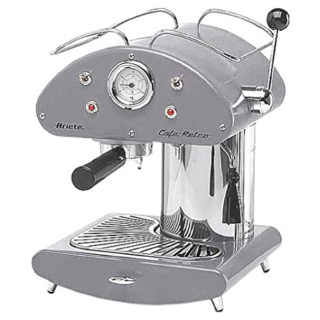 Amazon.com: Ariete Retro espressomachine 1385 Inox: Kitchen ...