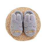 Kids Animal House Slippers Bunny Cute Family Indoor Outdoor Fuzzy Home Shoes