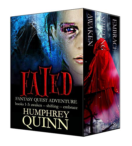 - Firemancer Bundle (Fated Fantasy Adventure Books 1-3: Awaken, Shifting, Embrace) (Fated Saga Box Set Book 1)