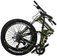 Eurobike 26 Inch Mountain Bike Folding Bicycle 21 Speed G4