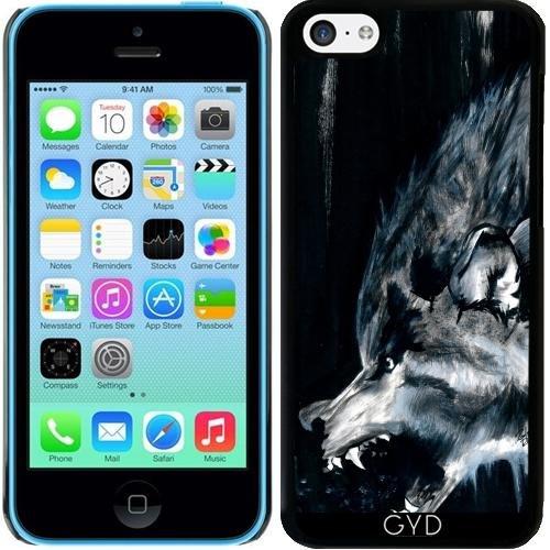 Coque pour Iphone 5c - La Lune Est Pleine à Nouveau by zombierust